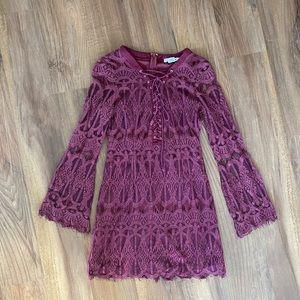 Nasty Gal Glamorous Lave Dress